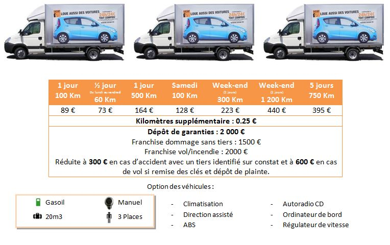 tarif location utilitaire location utilitaire camion 8m paris fly car location utilitaire. Black Bedroom Furniture Sets. Home Design Ideas