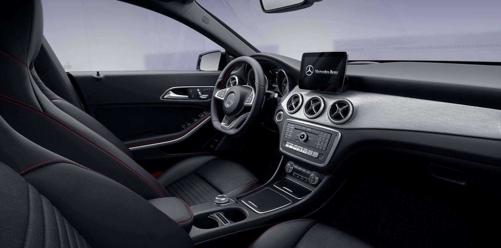 Mercedes Intérieur